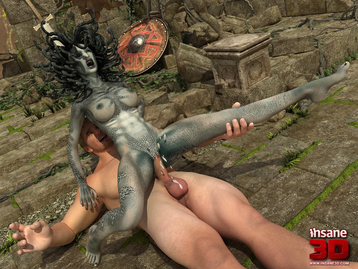 Medusa toon porn naked images