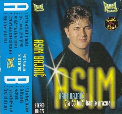 Asim Bajric - Diskografija Kaseta_Prednja