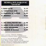 Semsa Suljakovic - Diskografija 24635378_Kaseta_Zadnja