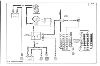 factory dual battery wiring gm square body 1973 1987 gm truck rh gmsquarebody com 86 S10 Wiring Diagram