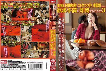 (V&R)當人妻在暖被桌裡面被刺激的話,會不會慾求不滿而發春呢!? 3