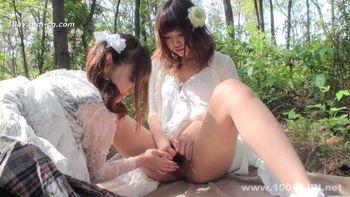 最新1000人斬130712sakura 森林白板女同性戀玩耍