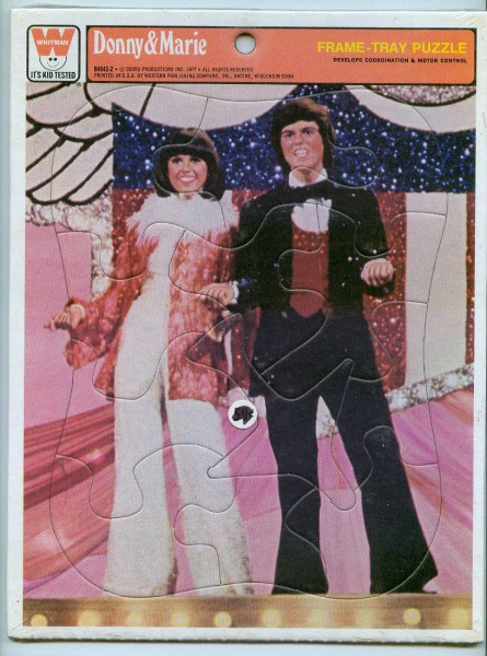 donny and marie osmond puzzle 445 x 600