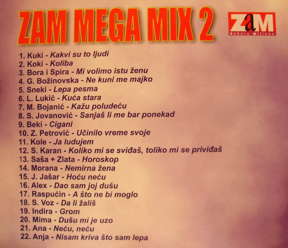 ZAM MEGA MIX 2 b