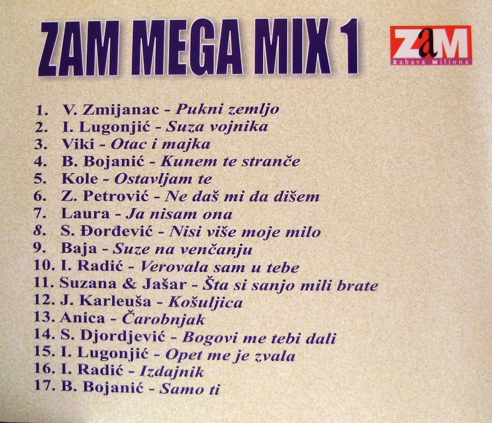 ZAM MEGA MIX 1 b
